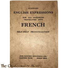 Standard English Expressions for all occasions translate into French WW2