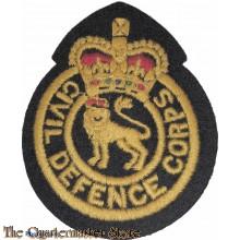 Embleem Civil Defence Corps (Badge Civil Defence Corps)
