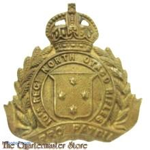 Cap badge 10th North Otago Rifles New Zealand