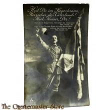AnsichtsKarte (Mil. Postcard) 1914 Heil dir im Siegerkranz