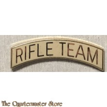 US Army Metal title Rifle Team