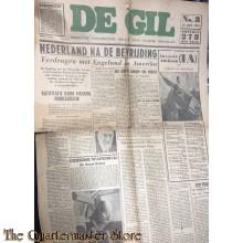 "Satirisch NSB blad ""de GIL"" no 8,  20 juni 1944"