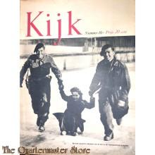 2 Maandelijks blad Kijk no 10 Britsche soldaten op ijs met nederlandsche kinderen