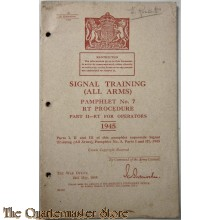 Pamphlet No 7  RT for operators signal  training (all arms) part 2