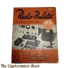 Radio Bulletin no 2 1944 de Muiderkring te Muiden in WW2