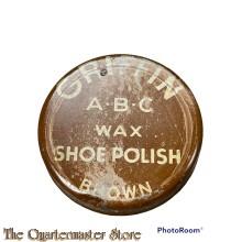 Tin Griffin A.B.C. military boot polish wax WW2