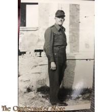 Small photo German POW 1947 Italien