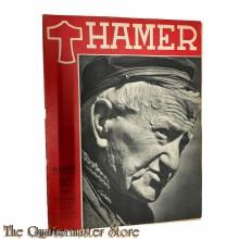 Maandblad de Hamer 4e jrg  no 4,  januari 1944