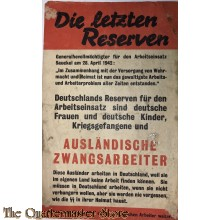 Flugblat G.26, Die letzten Reserven (The Last Reserves)