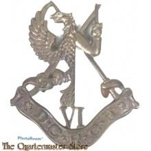 Cap badge Duke of Connaughts Royal Canadian Hussars WW2