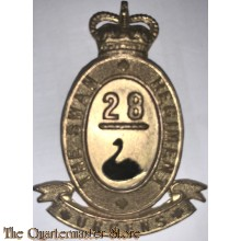 Cap badge 28th Battalion (the Swan Regiment)