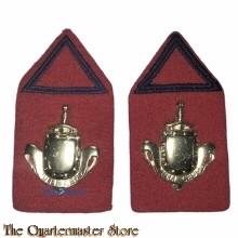 Kraag emblemen Infanterie opleiding Reserve Officier