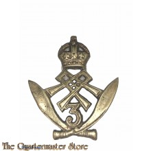 Cap badge 3rd Gurkha Rifle Regiment
