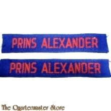 Straatnamen Regiment Huzaren Prins Alexander