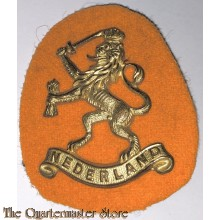Dutch beret lion 1942-1945 as used by Prinses Irene Brigade and other Dutch forces in Exile