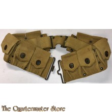 Cartridge Belt Mills Springfield Rifle Model 1903 10 Pouch Web Ammo