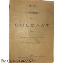 Voorschrift no 72a Handboek soldaat
