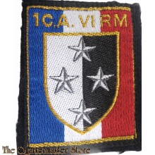 France - Sleeve badge 1 C.A CA-VIRM regiment 1° Corps d'Armée 6° Région