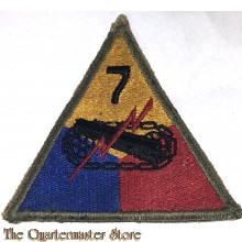 Mouwembleem 7e Armored Divisie (sleeve badge 7th Armored Division)