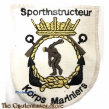 Borst embleem / Blazer badge Sportinstructeur Korps Mariniers