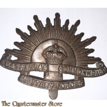 Cap badge Standard WW1 Rising Sun Australian Commonwealth Military Forces