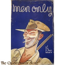 Magazine WW2 Men only British army