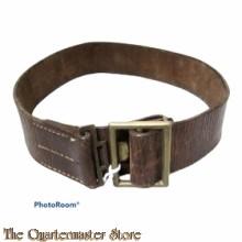 Lederen riem voor manschappen Belgie 1940 (Belt leather for EM/NCO Belgium 1940)