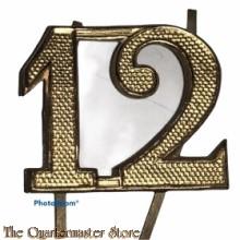 Shako nummer 12e Regiment Infanterie 1912-1916