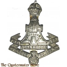 Cap badge The Princess of Wales Own Yorkshire Regiment (Green Howards)