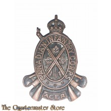 Cap badge,  Canadian Infantry Corps