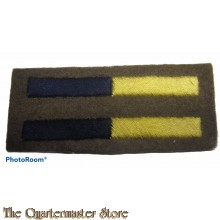 Arm of service strips Royal Army Service Corps