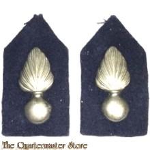 Kraag emblemen Korps Koninklijke Marechaussee (overgangsmodel)