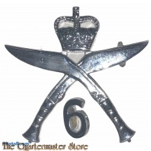 Cap badge 6th Queen Elizabeth 's Own Gurkha Rifles (6th Gorkha Rifles) post 1947