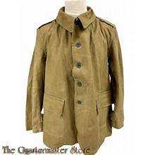 France - Veste de toile avec doublure amovible modele 1935 (EM tunic canvass M1935)