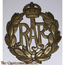 Cap badge Royal Air Force RAF WW2