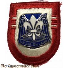 Beret flash 82nd Airborne Division 2nd Bat