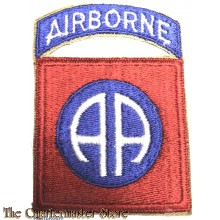 Mouw embleem 82e Abn Division WW2 (Sleeve badge 82nd Abn Division)