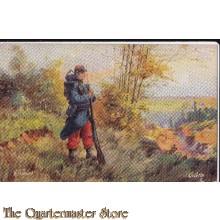 Postcard (Ansichtkaart) L Armee Francais