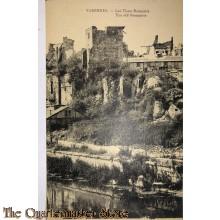 Postcard Varennes the old Ramparts 1918