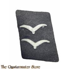 Kragenspiegel RLM o. Bauwesen Obergefreiter Luftwaffe (Collar badge RLM or Bauwesen Obergefreiter)