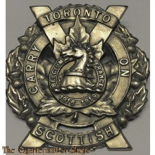 Cap badge Toronto Scottish Regiment, 4 Canadian Division