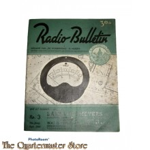 Radio Bulletin no 3 1944 de Muiderkring te Muiden in WW2