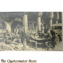 Mil Postkarte 1914  Die grosse Schlacht im Westen