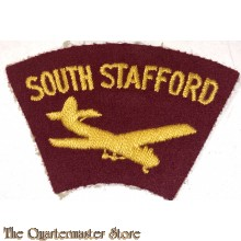 Formation patch South Stafford Regiment 1950s