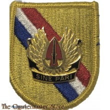 Beret flash S.O.C. special operations command  with crest