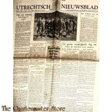 Krant Krant Utrechtsch Nieuwsblad 1941