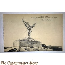 Postcard Le Mort Homme 69th Division They shall not pass 1918