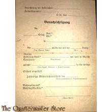 WH Benachrichtigung einstellung WH soldat 1942