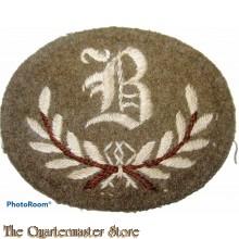 Sleeve patch Qualification trade badge B Class Tradesman