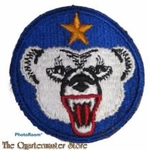 Mouwembleem Alaska Defence Command (Sleeve badge Alaska Defence Command)